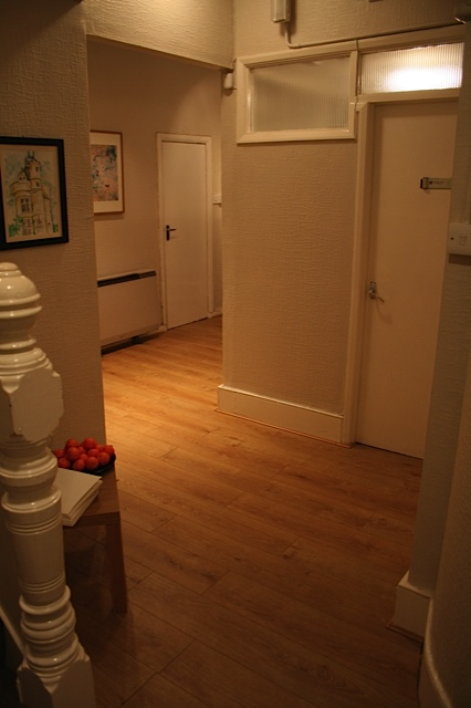 Hallway Waiting Room